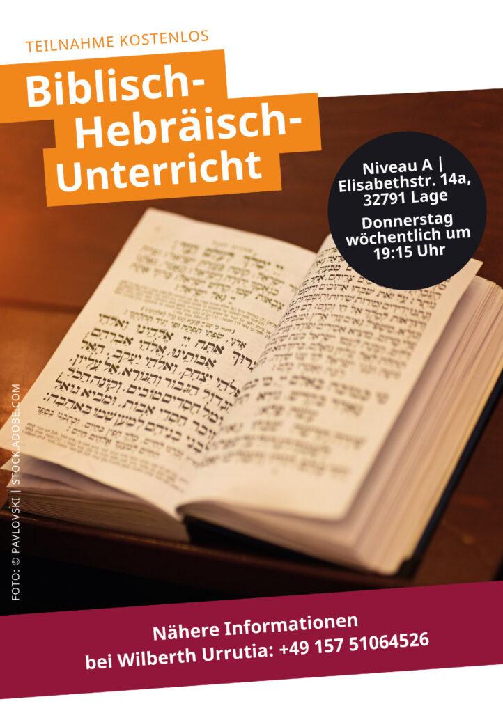 Hebräisch-Sprachkurs